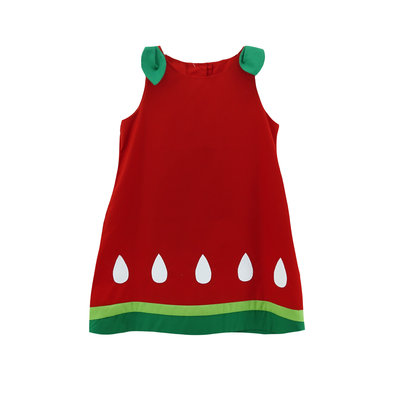 Zuccini Watermelon Applique Eloise Dress