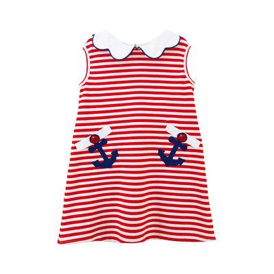 Zuccini Anchor Applique Blythe Dress