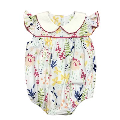 Sage & Lilly Grayton Garden Floral Knit Angel Wing Bubble