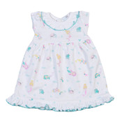Baby Bliss Mermaid and Sea Friends Doll Nightgown