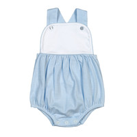 Baby Bliss Tony Blue Tiny Stripes Pima Sun Bubble