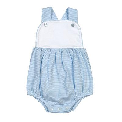 Baby Bliss Tony Blue Tiny Stripes Pima Sun Bubble