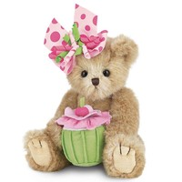 Bearington Collection Casey Cupcake Birthday Bear