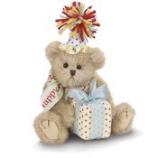 Bearington Collection Beary Happy Birthday Bear