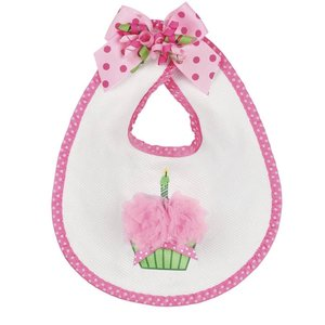 Bearington Collection Her 1st Birthday Bib