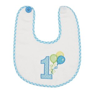 Bearington Collection His 1st Birthday Bib