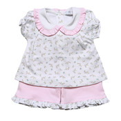 Baby Bliss Chiara Pima Short Set