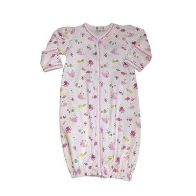 Kissy Kissy Ocean Oasis Pink Convertible Gown