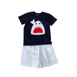 Natalie Grant Shark Knit Short Set
