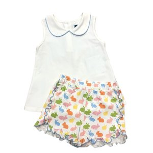 Honesty Clothing Company Bunnies Swing Top/Short Set