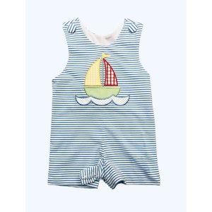 Honesty Clothing Company Sailboat Applique Shortall