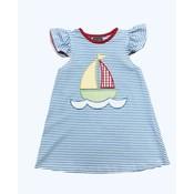 Honesty Clothing Company Sailboat Applique Dress