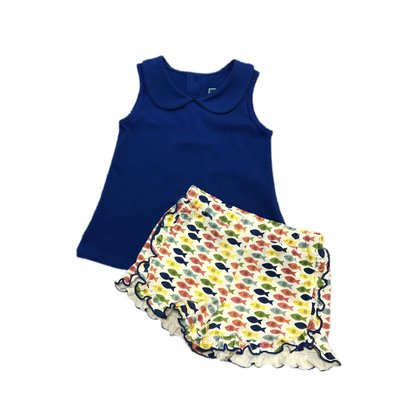 Honesty Clothing Company Fish Swing Top/Shorts Set