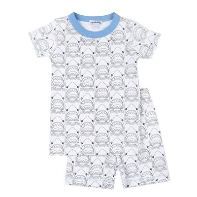 Magnolia Baby Jaws Short Pajamas