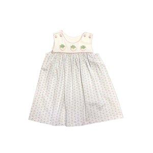 True Strawberry Embroidered Dress