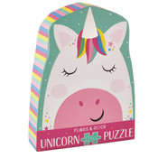 Floss and Rock Rainbow Unicorn 12PC Jigsaw Puzzle