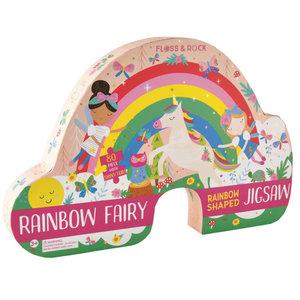 Floss and Rock Rainbow Fairy 80PC Jigsaw Puzzle