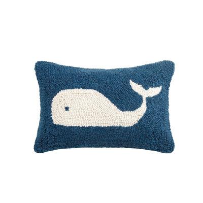 Whale Hook Pillow