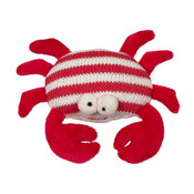Maison Chic Skipper The Crab Knit Rattle