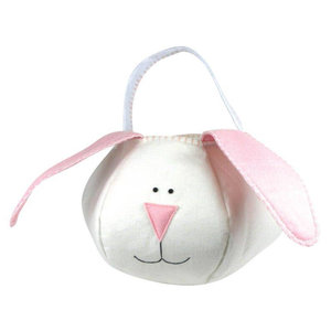 Groovy Holidays Loppy Eared Pink Bunny Bag
