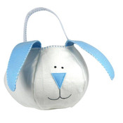 Groovy Holidays Loppy Eared Blue Bunny Bag