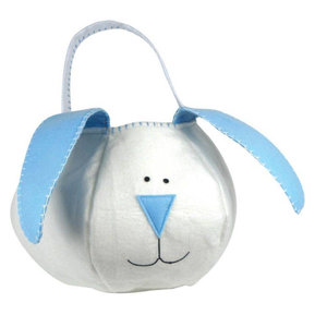 Groovy Holidays Loppy Eared Blue Bunny Bag