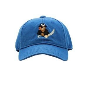 Harding Lane Pirate on Cobalt Blue Baseball Hat