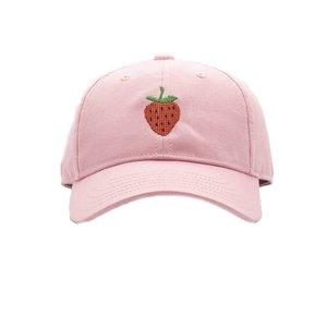 Harding Lane Strawberry on Light Pink Baseball Hat