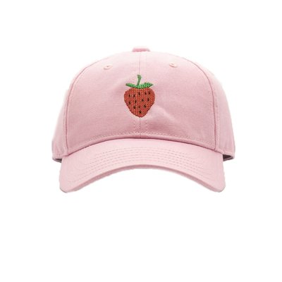 Harding Lane Strawberry on Light Pink Baseball Hat