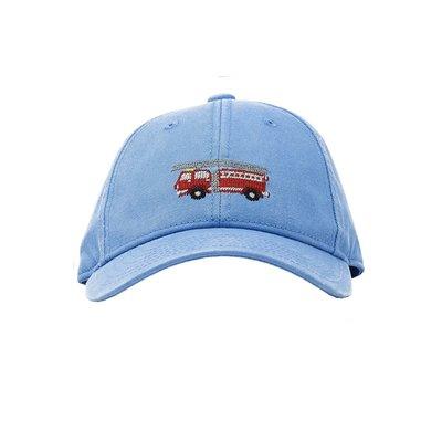 Harding Lane Firetruck on Light Blue Baseball Hat
