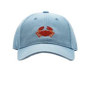 Harding Lane Crab on Faded Chambray Baseball Hat