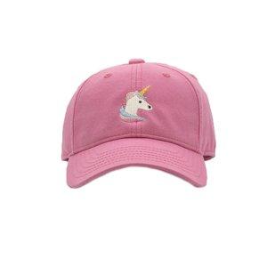 Harding Lane Unicorn on Bright Pink Baseball Hat