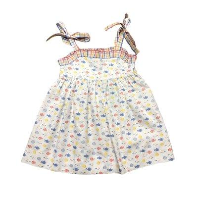 Sage & Lilly Perdido Key Catch Tie Dress
