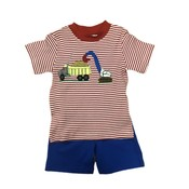 Squiggles Dump Truck Shirt & Shorts Set