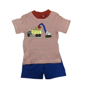 Squiggles Dump Truck Shirt & Shorts Set