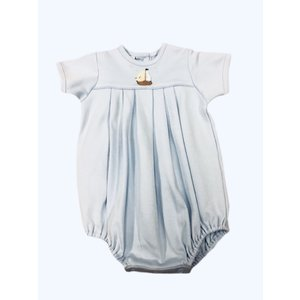 Squiggles Land Ho! Pleated Romper Sunsuit
