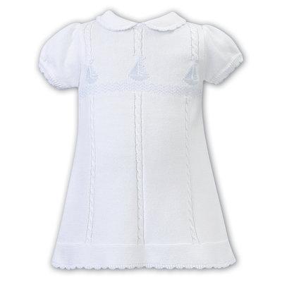 Sarah Louise Sailboat Sweater Dress