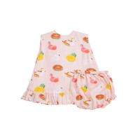 Angel Dear Floaties Ruffle Top & Bloomer Set