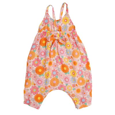 Angel Dear Retro Daisy Tie Back Romper
