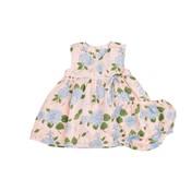 Angel Dear Hydrangea Kimono Dress w/Diaper Cover