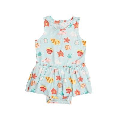 Angel Dear Happy Shells Bodysuit w/Skirt
