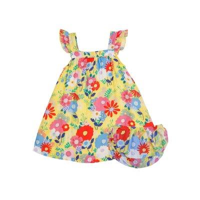 Angel Dear Superior Blend Floral Sundress/Diaper Cover