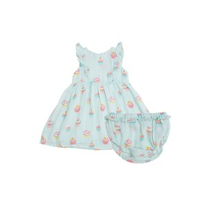 Angel Dear Cupcake Dress & Diaper Cover