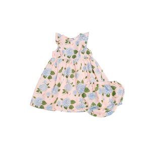 Angel Dear Hydrangea Dress & Diaper Cover