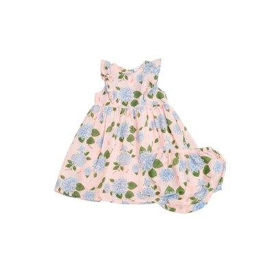 Angel Dear Hydrangea Dress & Diaper Cover