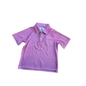 SouthBound Polo Shirt - Coral/Island