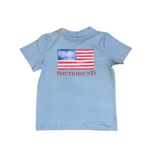 SouthBound Performance Tee - USA Flag