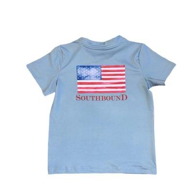 SouthBound Performance Tee - USA Flag