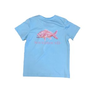 SouthBound Performance Tee- Snapper