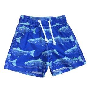 SouthBound Swim Trunk - Royal/Opal Fish